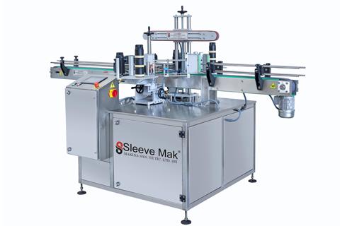 Çift Yönlü ve Silindirik Etiketleme Makinası