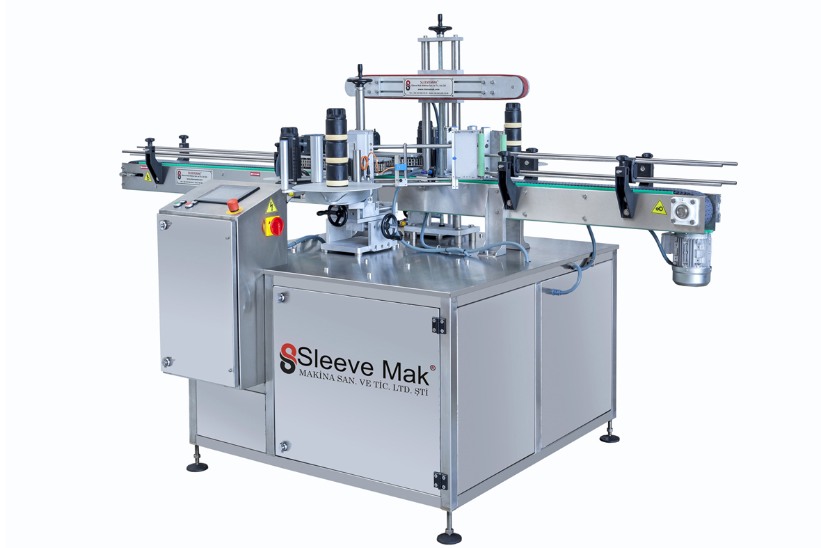 Two-Sided and Cylindrical Labeling Machine