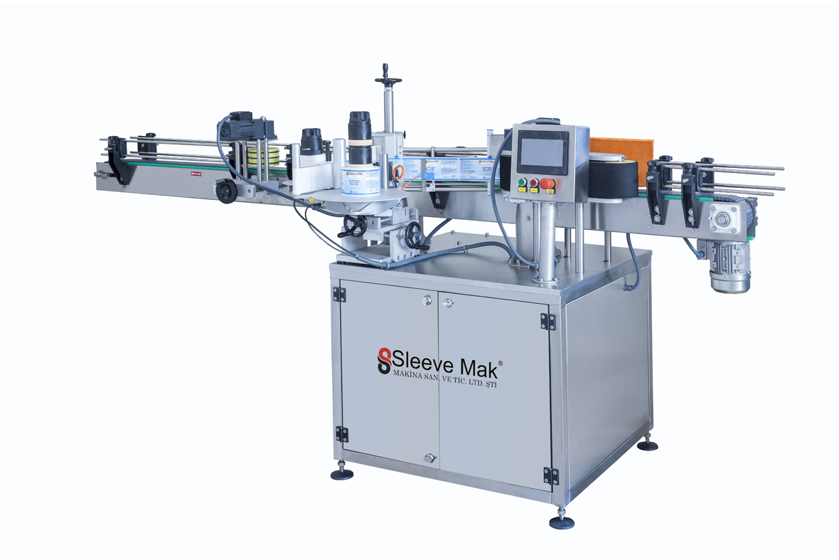 Servo Motor One Way Labeling Machine