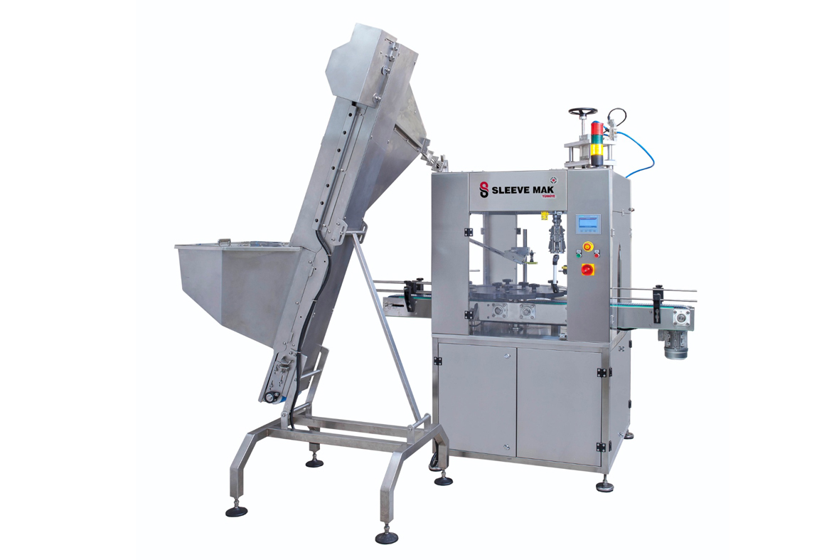 Automatic Cap Feeding and Automatic Capping Machine